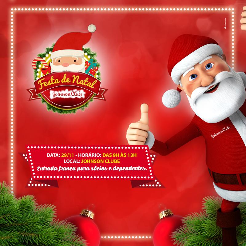 Festa de Natal do Johnson Clube promete muita diversão com vale-brinquedo e sorteio de vale-viagens