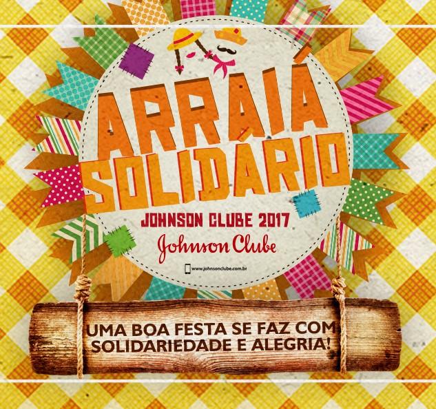 ARRAIÁ SOLIDÁRIO JOHNSON CLUBE 2017 - Conheça nossas instituições parceiras!