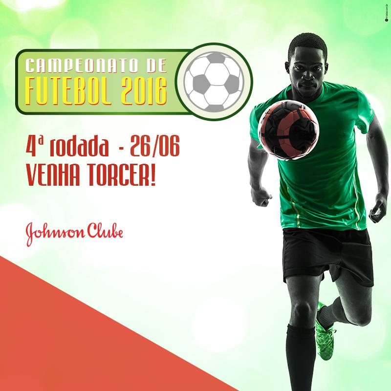 Vai começar a 4ª rodada do Campeonato de Futebol