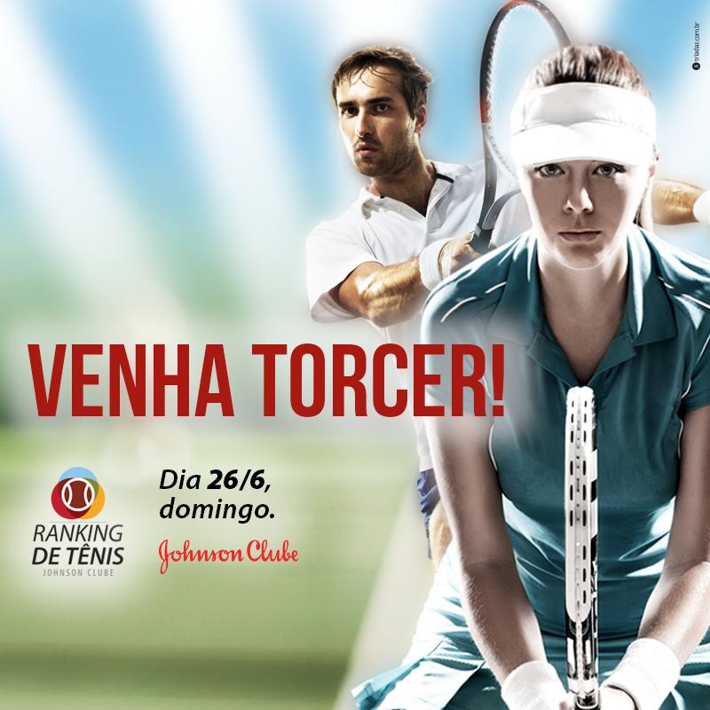 No próximo fim domingo, 26/06, acontece a final do Torneio de Tênis