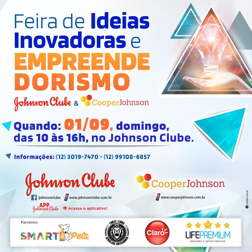 Feira de Ideias Inovadoras e Empreendedorismo Johnson Clube & Cooperjohnson