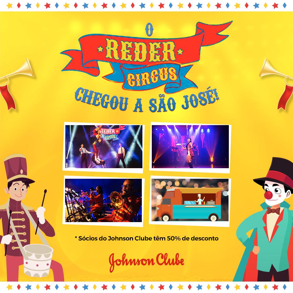 O Reder Circus chegou a São José!