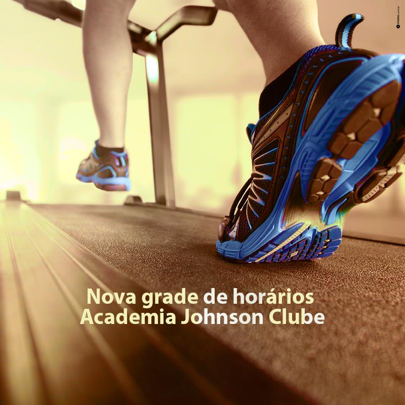 Novos horários - Academia Johnson Clube