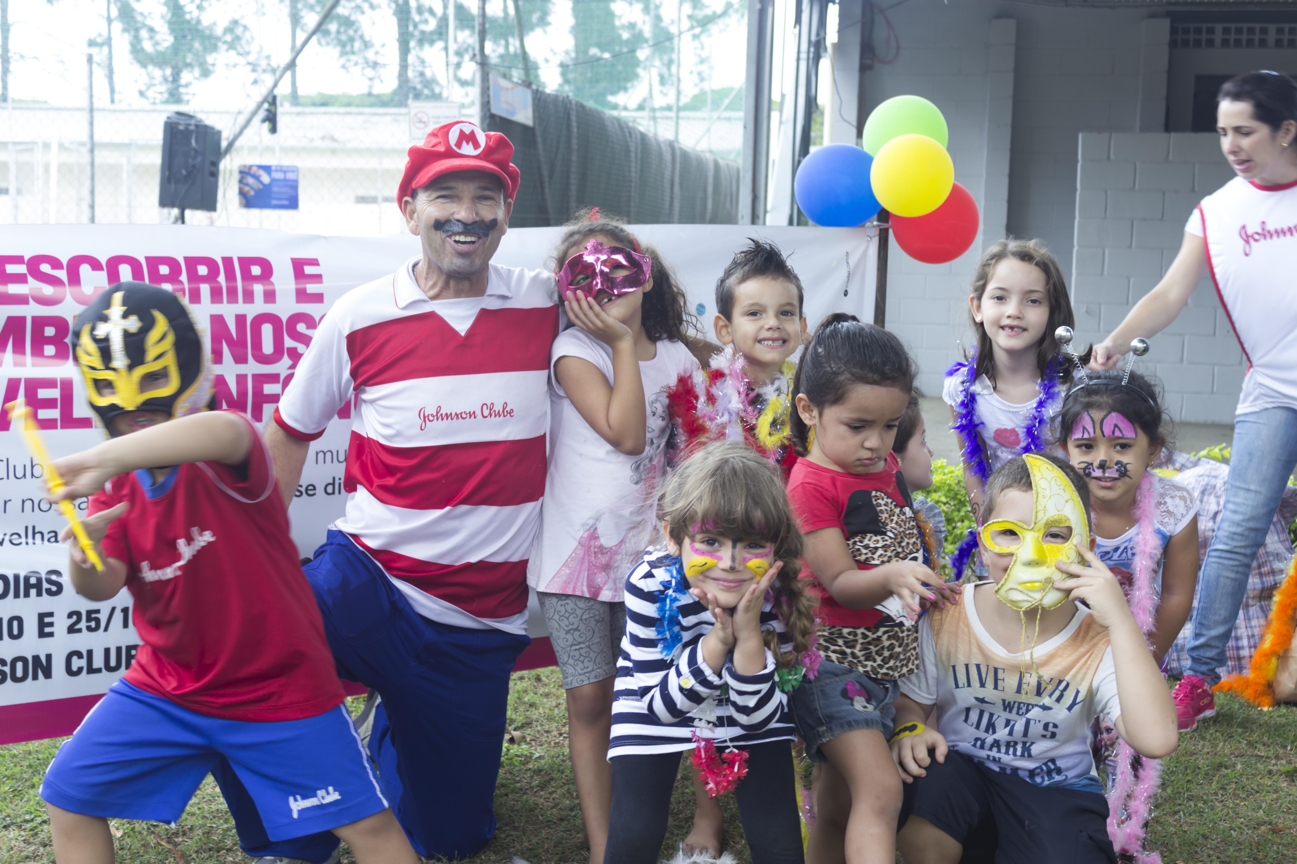 Johnson Clube realiza segundo dia de festa para as crianças