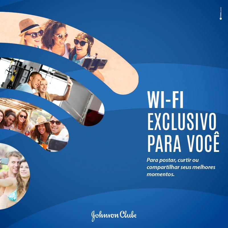 Wi-fi exclusivo para você