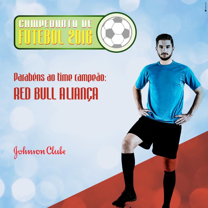 Red Bull Aliança vence Campeonato de Futebol 2016