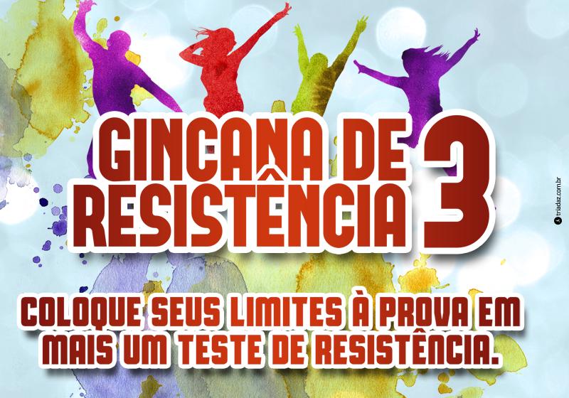 Vem aí a GINCANA DE RESISTÊNCIA JOHNSON CLUBE - III