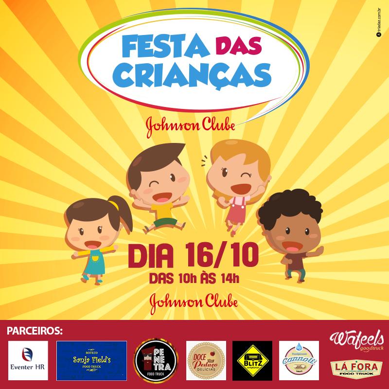 FESTA DAS CRIANÇAS JOHNSON CLUBE