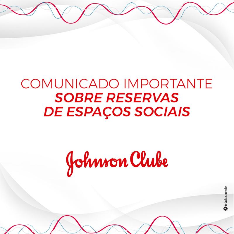 Comunicado importante sobre reservas de espaços sociais